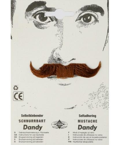 Усы денди коричневые (Германия)