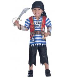Костюм пирата с мышцами