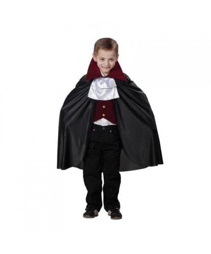 Костюм Дракулы младшего: воротник, жилетка, плащ (Германия)
