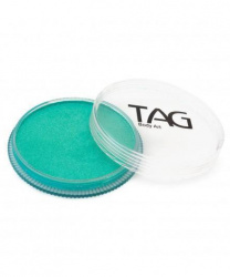 Аквагрим TAG перламутровый бирюзовый 32 гр