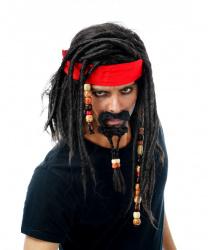 Парик пиратский с бородой