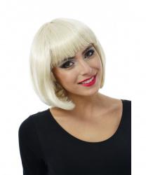 Парик - каре блондинки