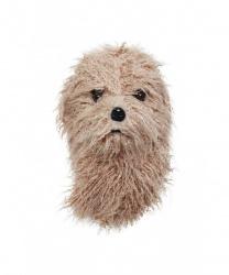 Меховая маска собаки