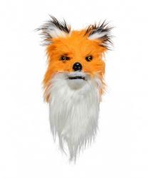 Меховая маска лисы