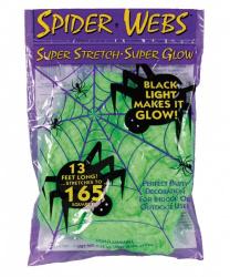 Зеленая искусственная паутина
