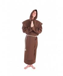 Коричневый костюм монаха