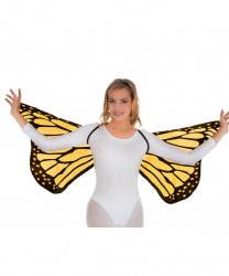 Оранжевые крылья бабочки