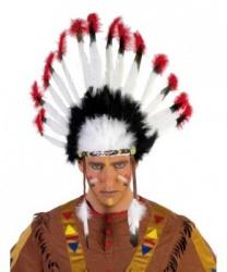 Головной убор индейского воина