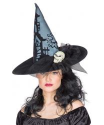 Колпак ведьмы с черепом