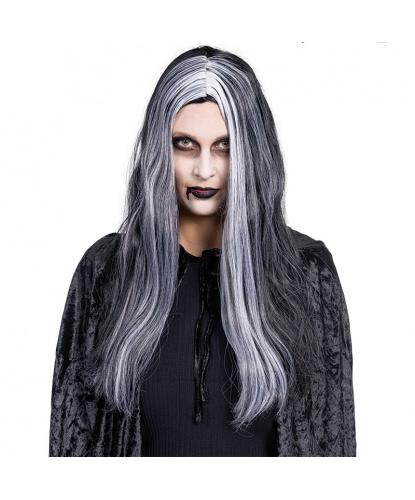 Парик ведьмы: черный, белый (Германия)