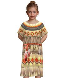 Платье индейской девочки