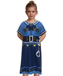 Детское платье обольстительной полицейской