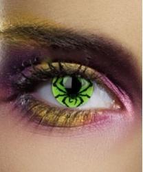 Линзы Зеленый Паук