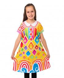 Детское платье клоуна