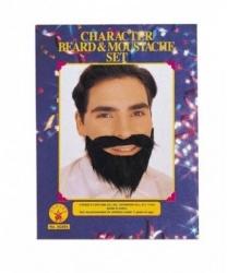 Накладные усы и борода