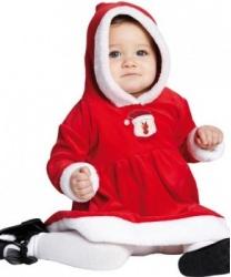 """Костюм """"Маленькая Мисс Санта"""" для малышей"""
