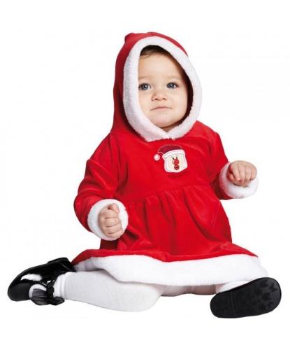 Костюм Маленькая Мисс Санта для малышей