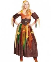Костюм осенней феи: ободок на голову, платье (Германия)