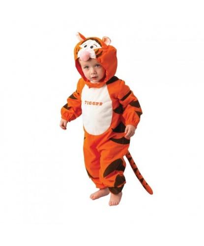 Костюм тигра на малыша: комбинезон с капюшоном (Германия)