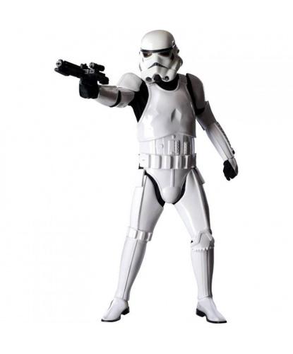 Штурмовик (Stormtrooper) Deluxe: комбинезон, пластиковые накладки, шлем, пояс (Германия)