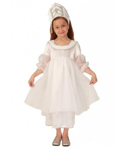 Костюм снежинки для девочки: головной убор, платье (Россия)