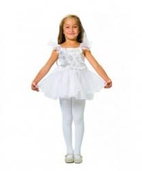 Детское платье снежинки