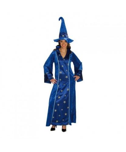 Взрослый костюм волшебницы: балахон, колпак (Германия)