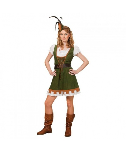 Костюм Мисс Робин: платье, шляпа (Германия)