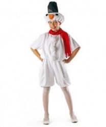 Детский костюм снеговика (уцененный товар)
