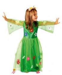 Детский костюм Весны: ободок на голову, платье (Польша)