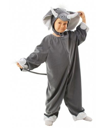 Костюм слона на ребенка: головной убор, комбинезон (Польша)