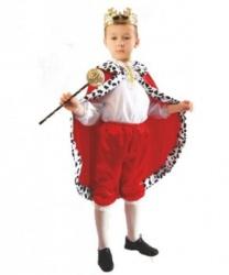 Костюм юного короля: брюки, накидка, рубашка (Польша)