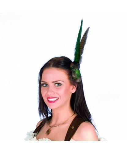 Украшение на голову из перьев: (Германия)