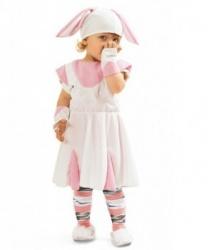 Платье кролика с шапкой