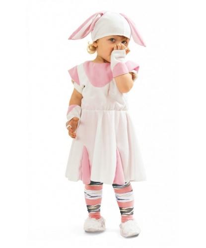 Платье кролика с шапкой: головной убор, перчатки, платье (Польша)