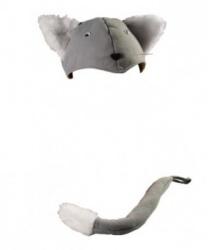 Шапочка и хвост кота