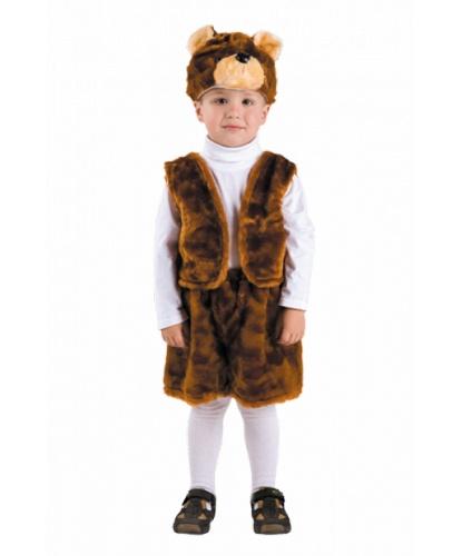 Костюм Медведь бурый: жилетка, маска, шорты (Россия)