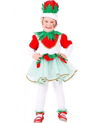 Костюм Клубнички: головной убор, платье, штаны (Италия)