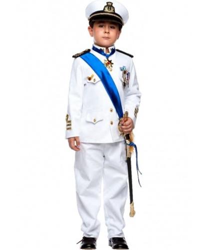Костюм Морского офицера: брюки, головной убор, пиджак (Италия)