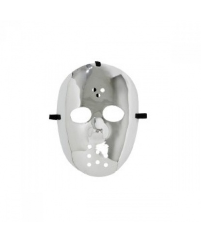 Хоккейная маска серебряная, пластик (Германия)