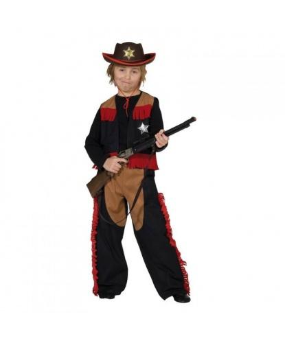 Костюм ковбойский для мальчика: жилетка, штаны (Германия)