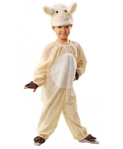 Детский костюм овечки: шапка, комбинезон (Польша)