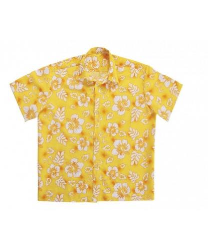 Гавайская рубашка желтая: рубашка (Италия)