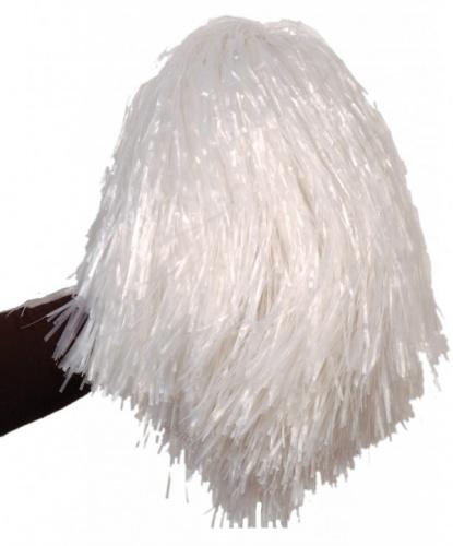 Помпон болельщицы белый