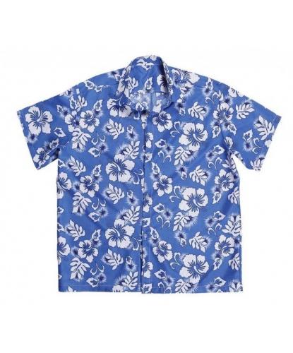 Гавайская рубашка синяя: рубашка (Италия)
