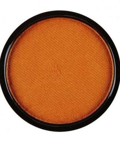 Аквагрим оранжевый металлик, шайба 10 мл/15 гр (Италия)