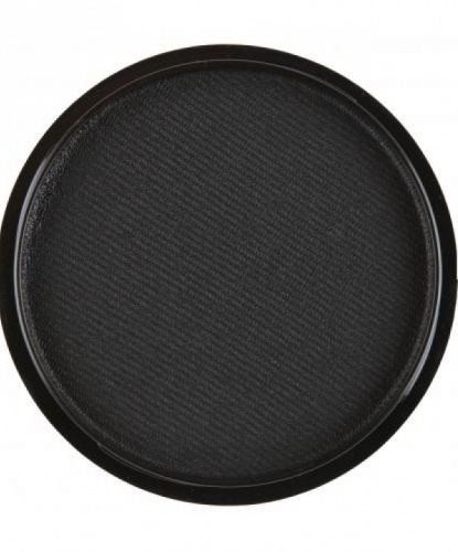 Аквагрим черный, шайба 10 мл/15 гр (Италия)