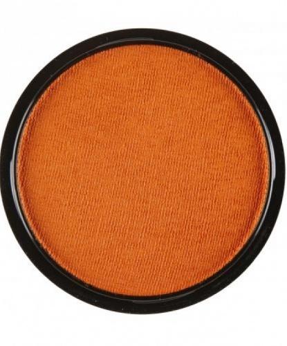 Аквагрим оранжевый, шайба 10 мл/15 гр (Италия)