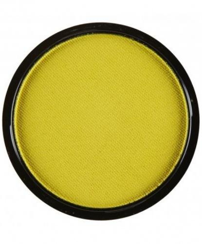 Аквагрим желтый, шайба 10 мл/15 гр (Италия)