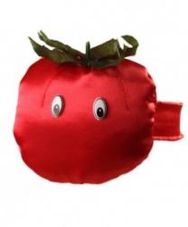 Шапка-повязка помидор